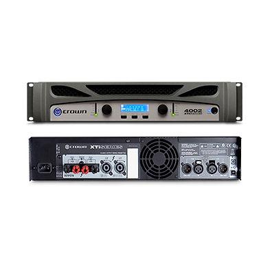 Tidak ada perdebatan lagi, saat Anda memilih Crown XTi 4002, Anda memilih power amplifier terbaik dan paling innovative saat ini. Power amplifier Crown XTi 2002 melanjutkan standar sebelumnya untuk performa tak tertandingi bekerja setiap hari tanpa lelah.
