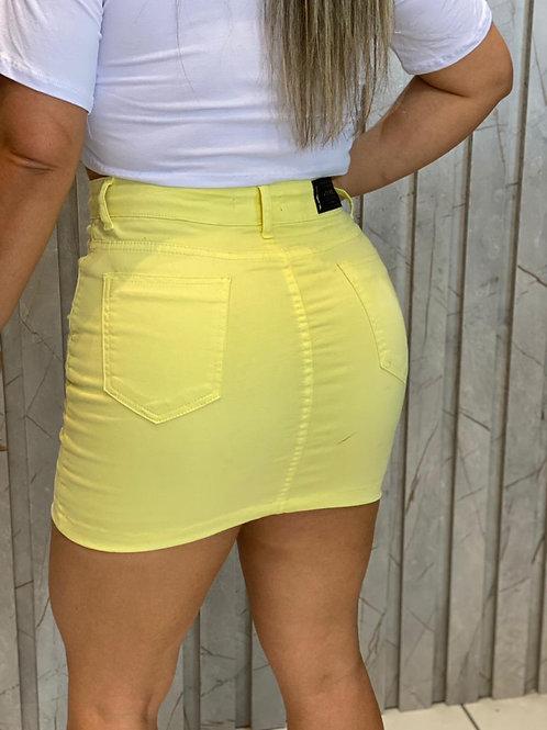 Saia Mini Collor Amarela