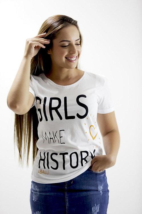 T-shirt Girls Make History