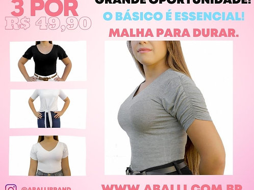 Combo - Blusas Malha