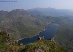 Y Lliwedd - Crib Goch and Llyn Llydaw