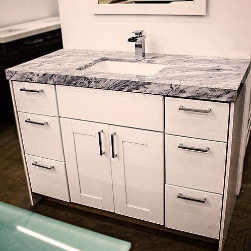 Custom Vanity 48 Floor Sample