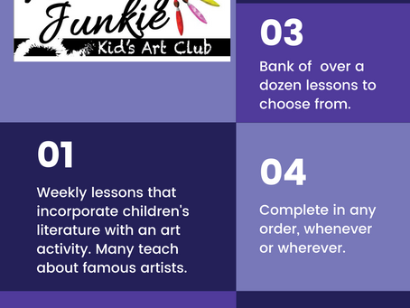 Kids Art Club is OPEN now!