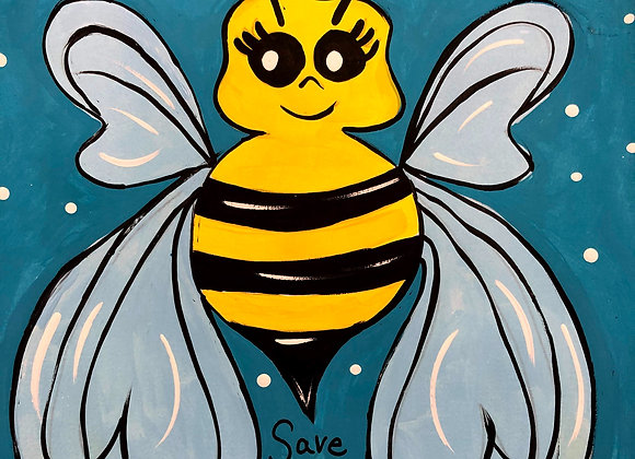 Save the Bees Painting Kit