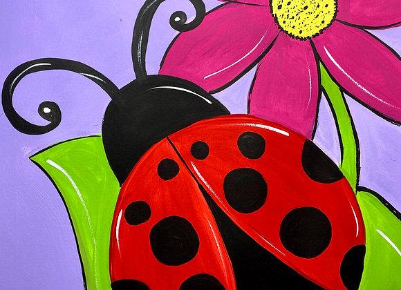 Ladybug Painting Kit