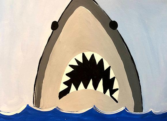 Shark Painting Kit