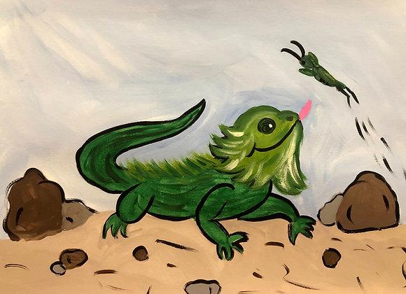 Iguana Painting Kit