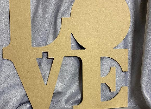 LOVE door hanger