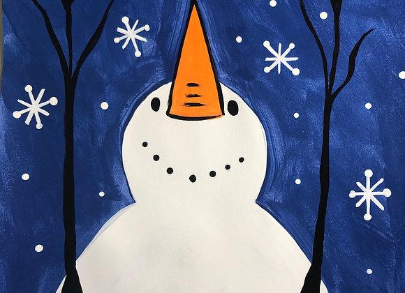 Snowman Painting Kit