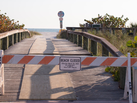 County by County Beach Access Update (COVID-19) MAY 5th