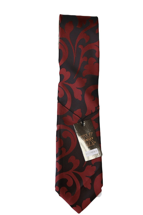 NECKTIE BLACK/RED