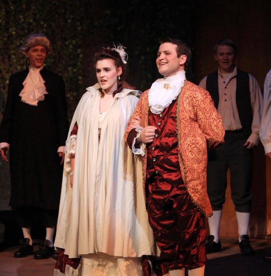 The Marriage of Figaro, Samford University 2018