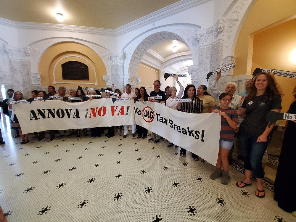 The cities of South Padre, Laguna Vista and Port Isabel along with 40 organizations and businesses opposed tax breaks to Annova LNG.