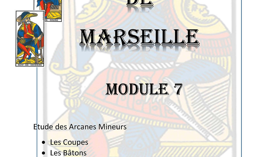MODULE 7 - COURS DE TAROT