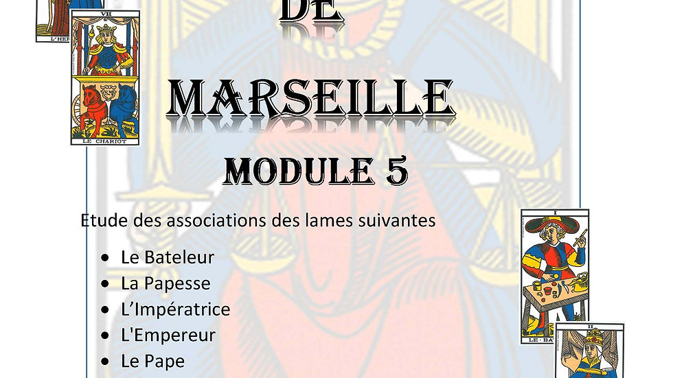 MODULE 5 - COURS DE TAROT