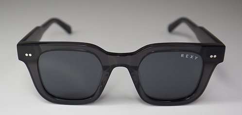 Lucky 7 - Black Frame Sunglasses with Black Lens