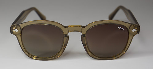Smoke - Clear Brown Frame Sunglasses with Brown Lens