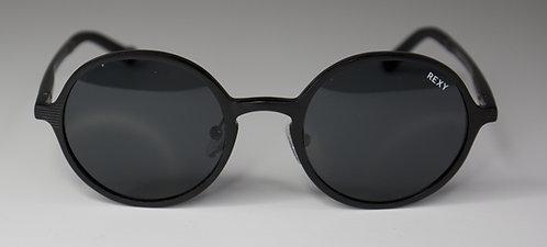 Salty - Black Frame Sunglasses with Black Lens
