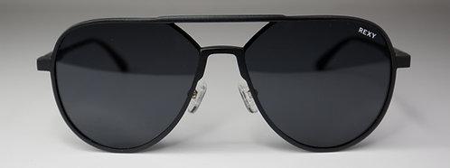 Top Gun - Aviator Style Sunglasses Black Frame and Lens