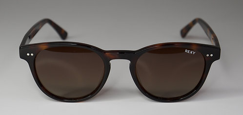 Shade - Tort Frame Sunglasses with Brown Lens