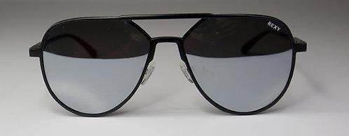 Top Gun - Aviator Style Sunglasses Gun Metal Frame with Mirror Lens