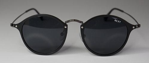Havanna - Black Frame Sunglasses with Black Lens