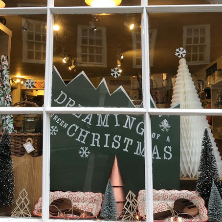 Christmas Windows in Watlington