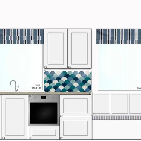 Small Seaside Kitchen