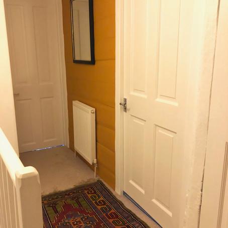 A small hallway