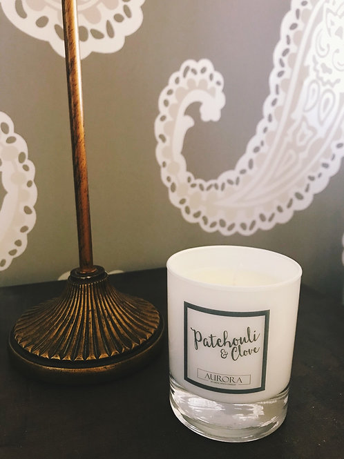 Unboxed Patchouli and Clove Candle