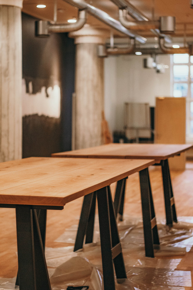Plankeborde til Rosenhuset