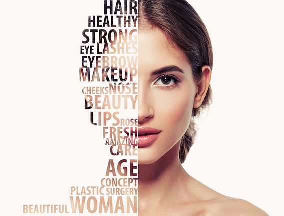 Beautiful woman portrait beauty skincare
