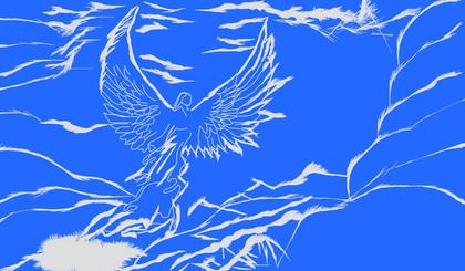 Take Flight Blue