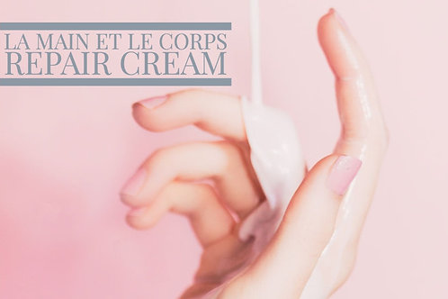 La main et le corps Repair Cream