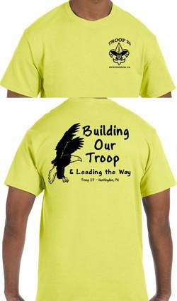 Troop 25 tee