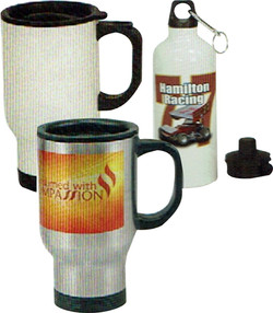 Travel mugs & Water bottles