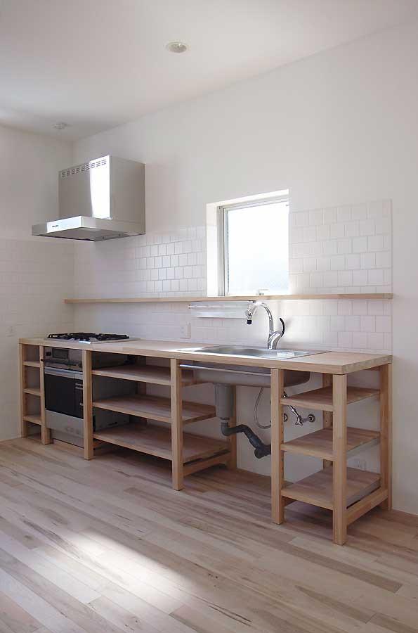 このキッチンも設計しました。