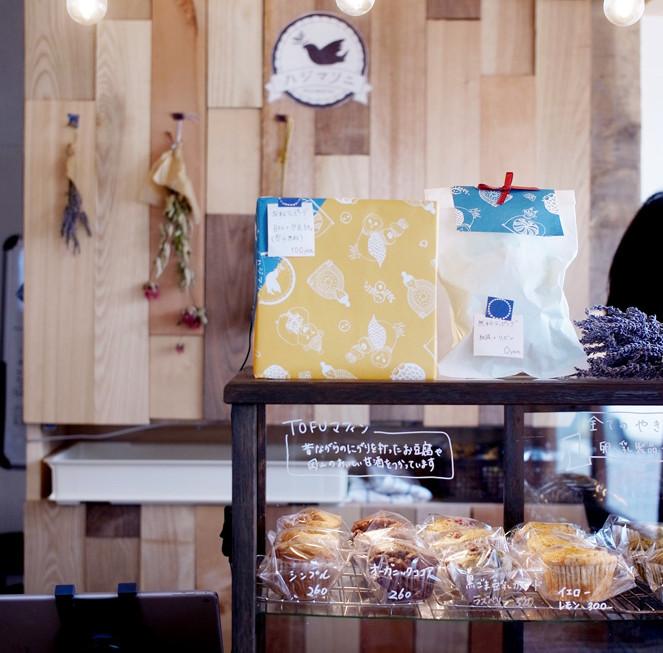 入って右手にはお菓子の販売コーナーあります。
