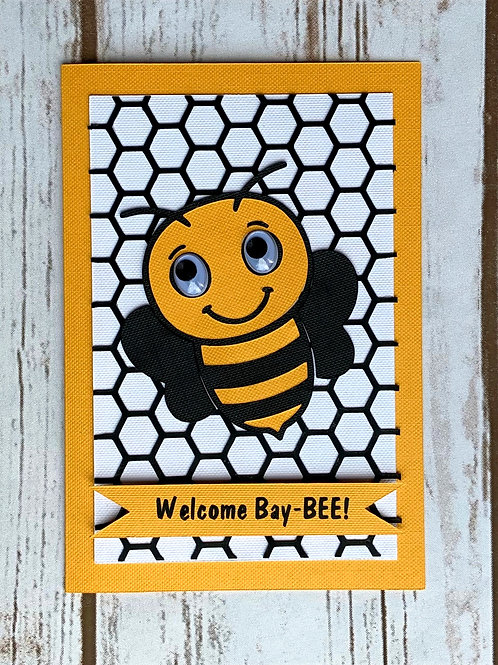 Bee Baby Card
