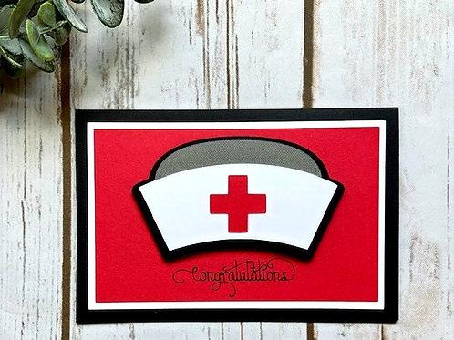 Nursing Hat Card