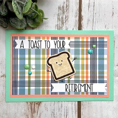 Toast to Retirement Card