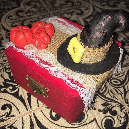 Mobiletto della Strega in Rosso