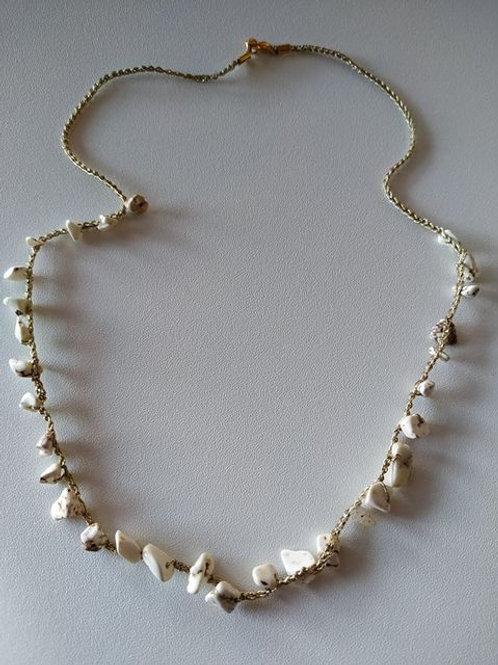 Collana Turchese Bianco
