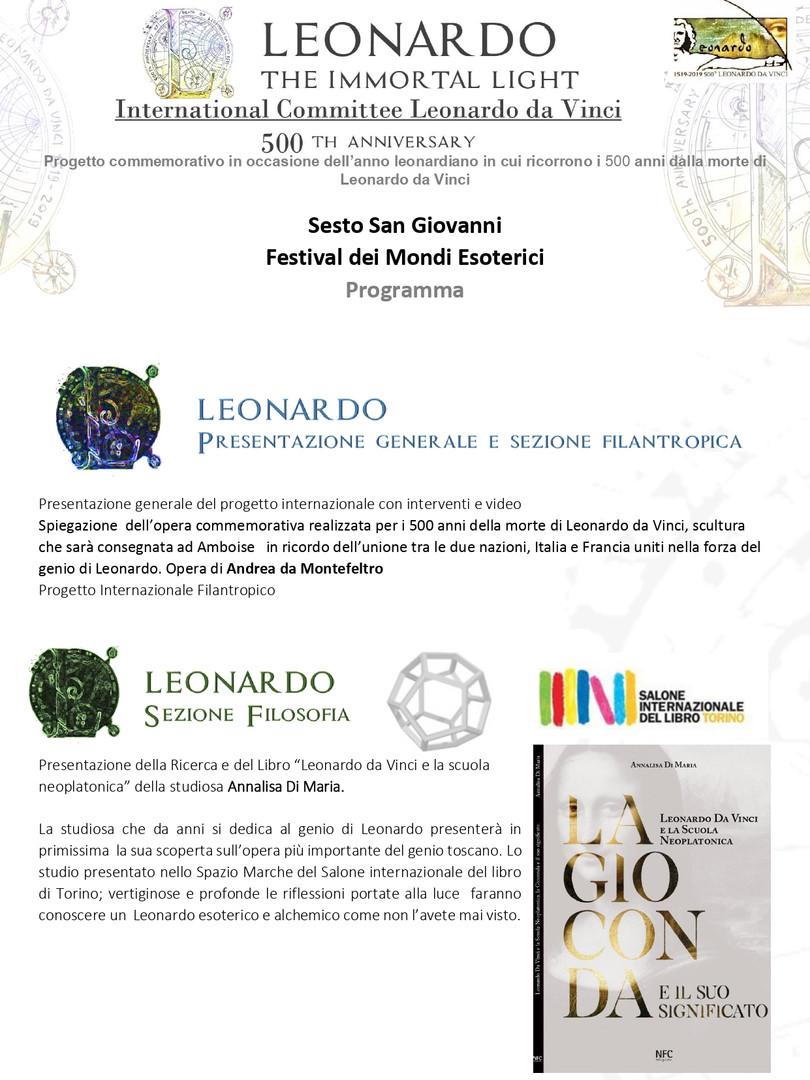 International Committee Leonardo da Vinci 2019