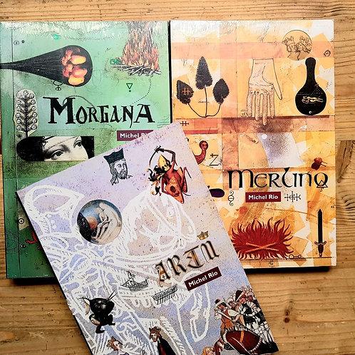 Morgana, Merlino, Artù - Trilogia