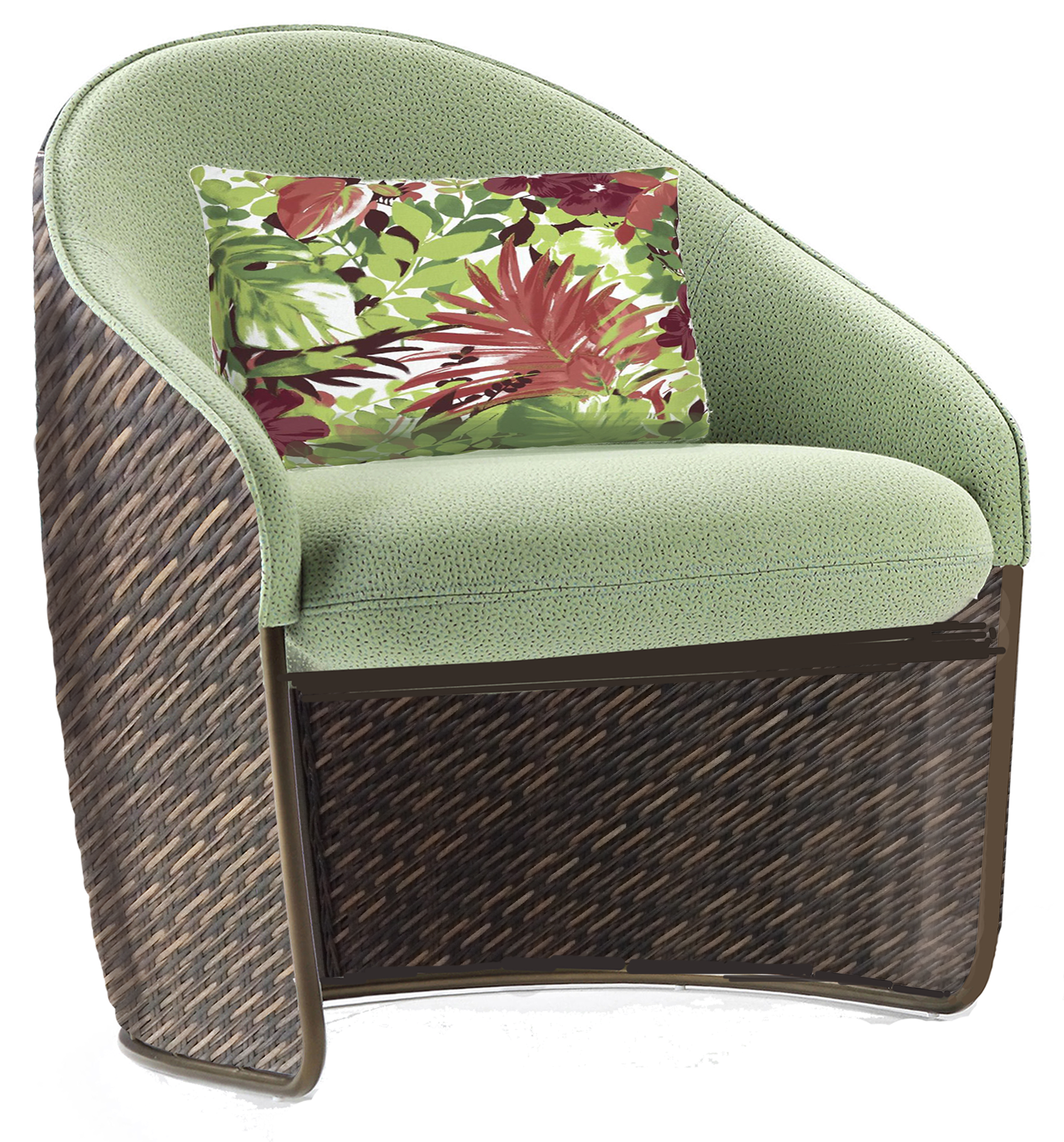 Barkley Sierra Mixed Wicker Dining Chair