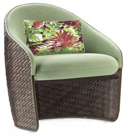 Barkley Sierra Mixed Wicker Dining Chair
