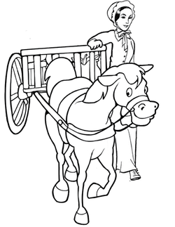 Horse and Wagon-01
