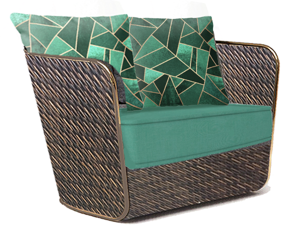 Bella Vista Mixed Wicker Deep Seating Ch