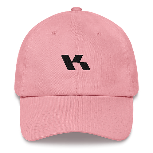 Kazzop Embroidered Light Pink Dad hat